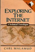 Cover of Carl Malamud's Exploring the Internet